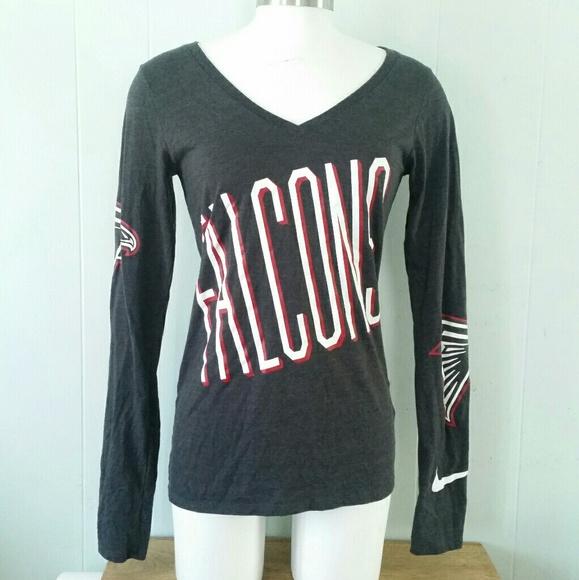 28c59b66c1c68 Nike Tops | Atlanta Falcons Long Sleeved Tshirt Nfl Football | Poshmark